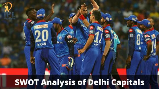 SWOT Analysis of Delhi Capitals