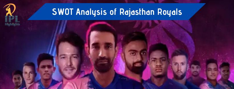 SWOT Analysis of Rajasthan Royals